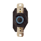 Leviton 2420 - 20 Amp, 250 Volt 3 Phase, 3 Pole Flush Mount Locking Receptacle