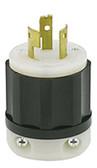 Leviton 9965-C - 20 Amp, 125/250 Volt 3 Pole Locking Plug