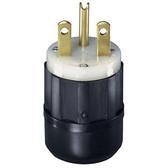 Leviton 5666-C - 15 Amp, 250 Volt, 2P, 3W, Plug, Straight Blade
