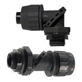 "Hubbell/RACO 4754 - 1"" Liquidtight Straight Non-Metallic 90 Connector w/Swivel Lok"