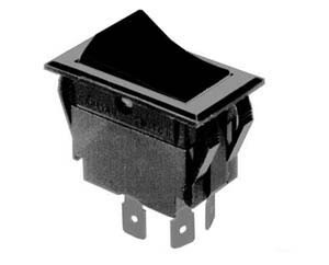 Selecta SS1104-BG - DPST ON-OFF, 15 Amp Rocker Switch