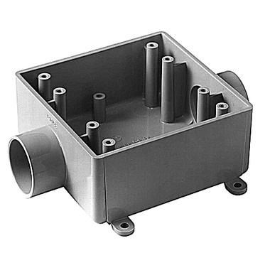 Carlon E9812E - 3/4  2-Gang Rigid Non-metallic Conduit - Switch Box (2FSC)  sc 1 st  Galesburg Electric/Industrial Supply Inc. & Carlon E9812E - 3/4