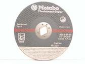 """Metabo 616333000 - 7"""" Type 1 Cutting Wheel - Circular Saws"""