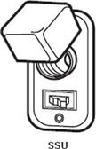 """Bussmann SSU - 2-1/4"""" Handy Box Cover Unit"""