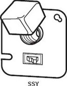 "Bussmann SSY - 4"" Square Box Cover Unit"