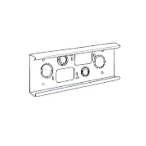 Wiremold (V4014A) 4000 Series Wall Box Connector