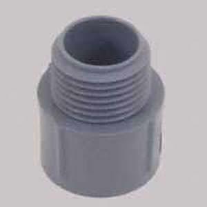 """3-1/2"""" (31/2PVC MA ADPT) PVC Male Adapter - Schedule 40"""