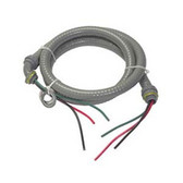 "EPCO ACWNM1063-1RA - 6' x 1/2"" 3-Wire Air Conditioner Whip"