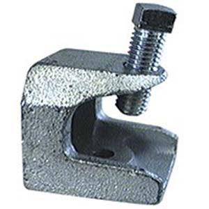 "T&B 502 - 3/8""-16 Threaded Openings Beam Clamp - Malleable Iron"