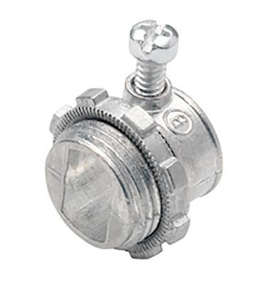 """Bridgeport 501-DC2 - 3/8"""" AC Cable Set Screw Connector"""