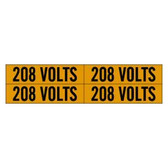 Brady 44206 - 4/Card 208 Voltage Marker
