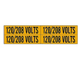 Brady 44259 - 4/Card Voltage Marker