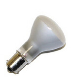 Miniature Lamp 1383 - 20W, 13V R12 Single Contact Bayonet BA15s Base