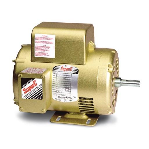 Baldor Motor El1408t 3hp 1ph 1750rpm Frame 184t Opsb