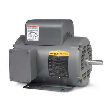 Baldor Single Phase Open Motor L1410T - 5HP