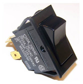 Selecta SS1114-BG - DPDT, (On) - On, 15A Rocker Switch