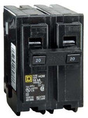 Square D HOM225 - HOM 25A Double Pole 120/240V Circuit Breaker