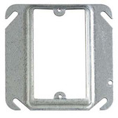 "T&B 52C14 - 4"" Pre-galvanized steel square box device cover"