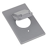 "T&B #CCSV - Red Dot Dry-tite Single Gang 1.59"" Diameter Device Cover"