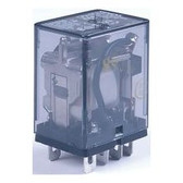Potter Brumfield KUP11D15-24 - Relay 24VDC DPDT Flat Pin
