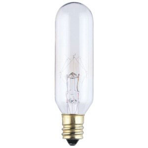 Bulbrite 15T6 - 15 Watt 130V Clear Appliance Bulb