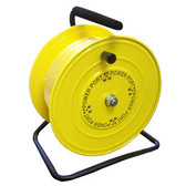 Power Port MHC38150ORS - Air Hose Caddy With 3/8 IN X 150 FT Yellow PVC Hose