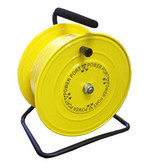 "Power Port MHC38100-ORS - Metal Air Tool Hose Caddy 3/8"" I.D. 100' Yellow Part"