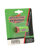 Interstate Batteries APHO0015 - CR123A REPLACEMENT BATTERY