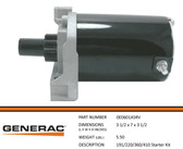 GENERAC 0E0601ASRV - STARTER MOTOR 410CC