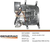GENERAC 0G82970SRV - PAR NG/LP MIXER ASSY 14/17KW