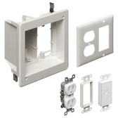 Arlington TVBR505K - 2G Recessed TV Box Kit