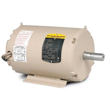 Baldor Motor Afm3532 3hp 3ph 3450rpm Frame 145t Teao