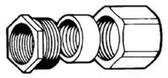 "Crouse-Hinds 191 - 3 Piece Conduit Coupling 3/4"""