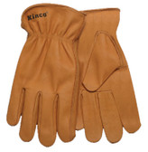Kinco 81 - Unlined Drivers Heavyweight Buffalo Leather Gloves - X-Large