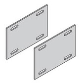 B-Liner R4A-SSP - Redi Rail Splice Plates for Alum Tray Cable (Clearance)