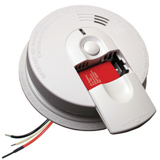 FireX/Kidde I5000 AC/DC - Smoke Alarm 120V Direct Wire with Battery Back-Up