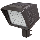 Atlas PF84LEDS - Flood LED 84W 120-277V Fixture with Slip Fitter