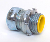 """Crouse-Hinds 1650 - EMT 1/2"""" Concrete Tight Straight Compression Connector"""