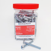 1/4-20X2RH - Round Combo Head Machine Screw Jar/100