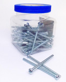 8/32X21/2 RH - Round Head Combo Machine Screw 100/Jar