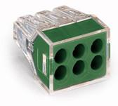 Wago 773-116 - Wall Nuts J-Box 6 Port Connector