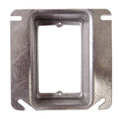 Crouse-Hinds TP488 - 4 Inch Plaster Ring 1 Inch Recessed