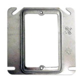 "Crouse-Hinds TP484 - 3/4"" Plaster Ring for 4"" Square Box"