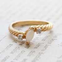 Liliana Dainty Genuine Opal Ring