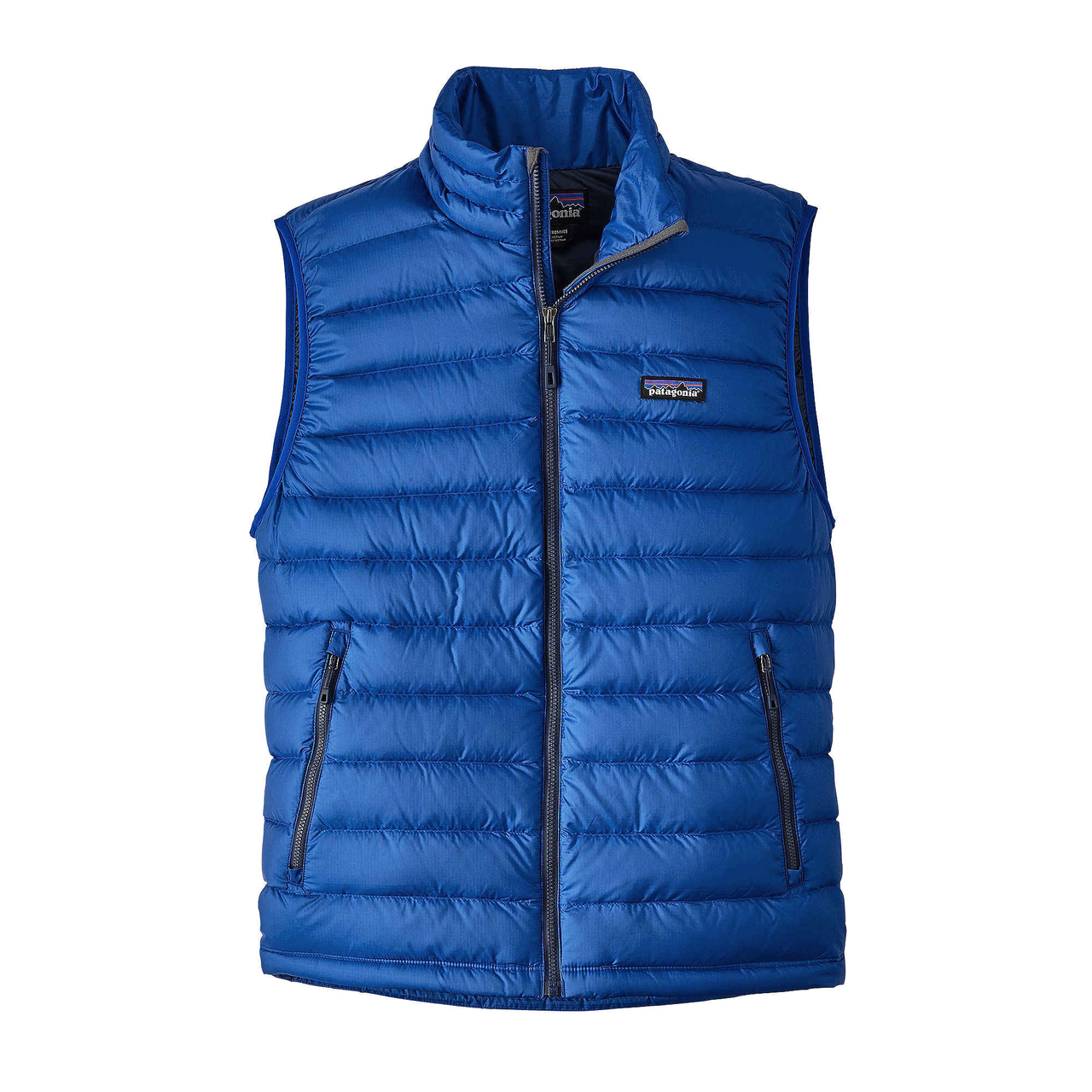Patagonia Men's Down Sweater Vest Viking Blue - Gear West Ski and Run