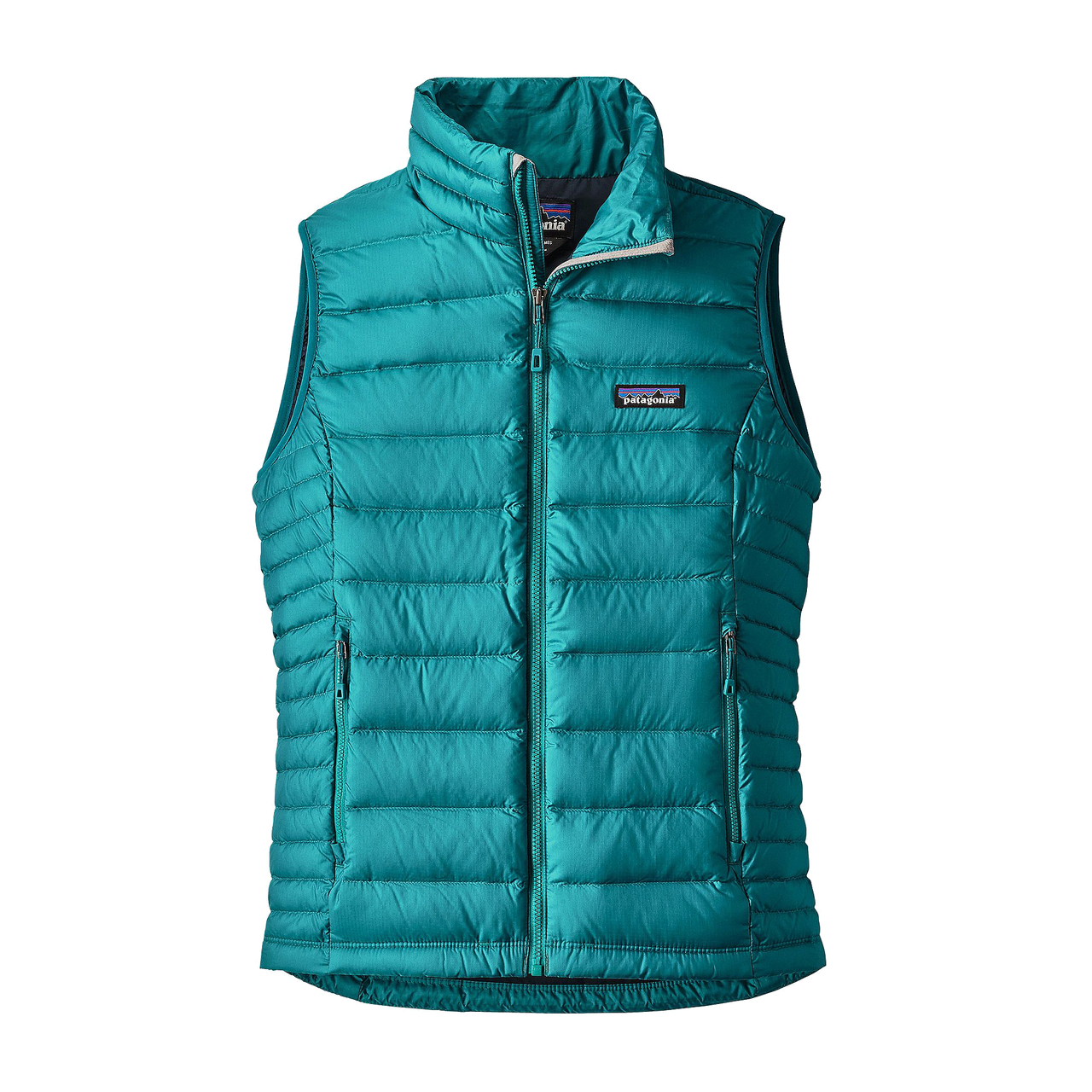 Patagonia Women's Down Sweater Vest Elwha Blue - Gear West Ski and Run