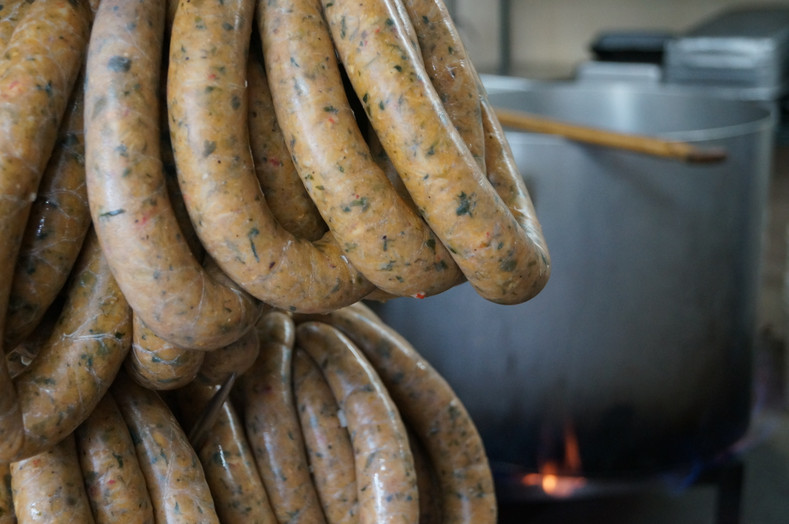 Crawfish Boudin is currently in season!