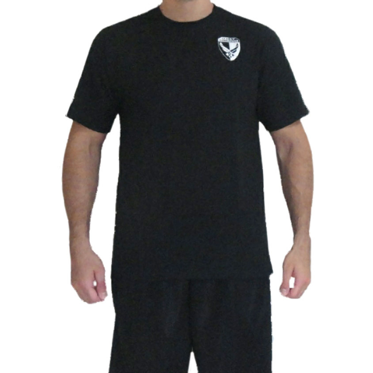 AFCP Instructor T-Shirt White Print on Black - MacpGear A Division ...