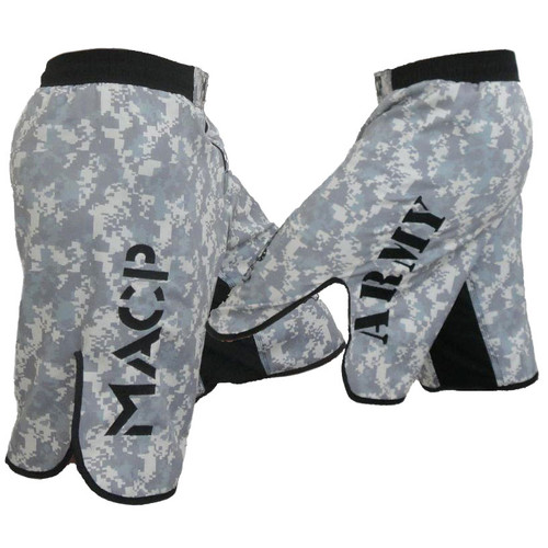 MACP ACU Fight Shorts Army on Leg