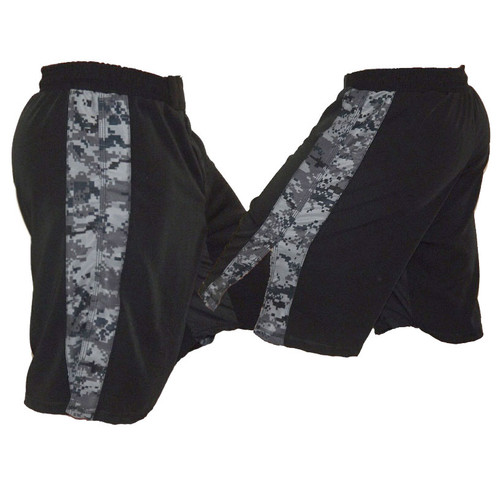 Navy Camo (NWU) Stripe Fight Shorts